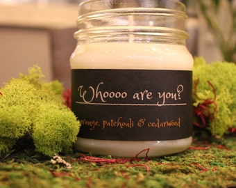 Orange, Cedarwood & Patchouli Soy Candle