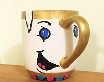 "Beauty & The Beast Inspired ""Chip"" Mug"