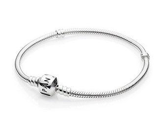 pandora style sterling silver charm bracelet 20cm luxury gift