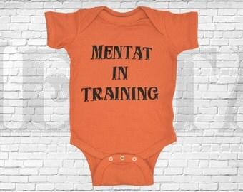 Dune, Frank Herbert inspired, Mentat in Training baby bodysuit