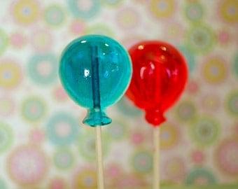 Balloon lollipops, Lollipops, Candy Lollipop, Balloon Lollipop, lollipop, birthday lollipops, Party Favors, Birthday-Set of Ten