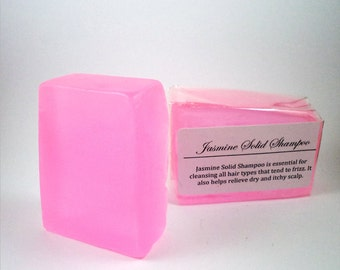 Jasmine - Handmade Solid Shampoo Natural Shampoo