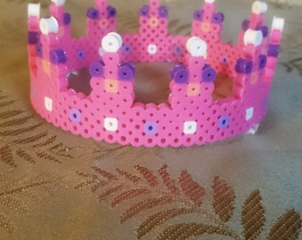 Bright pink crown