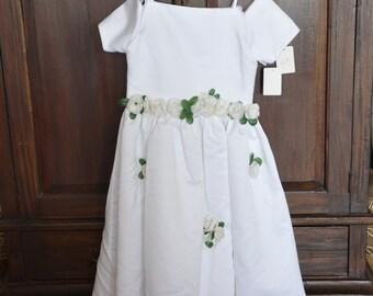 Easter dress, childs size 8 dress, little girl dress, special occasion, flowergirl dress, pagent dress, christmas dress, spring dress