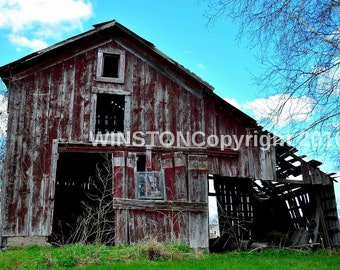 The old Barn that's still standing