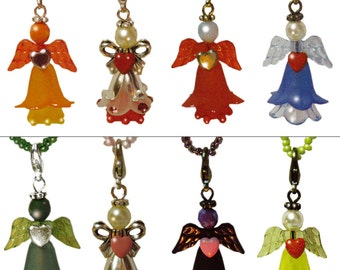 A whole gaggle of luck fairies with heart - 8 colors to choose from!