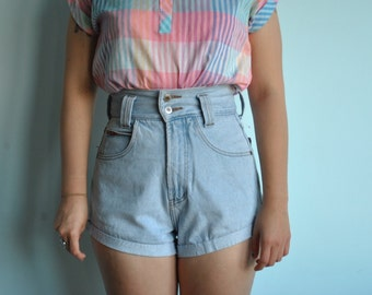 Vintage sz 11/12 high waisted Golden Star jean shorts