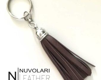 keychain. leather keychain. keychain tassel. Leather tassel. Leather tassel keychain