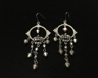 Vintage Earings, Pierced, Dangle