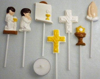 First Communion Chocolate Party Favors