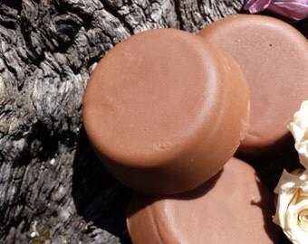 Organic Chocolate Coffee Creamy Cocoa Butter Body Lotion Bar