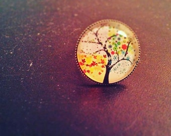 ring adjustable magic tree
