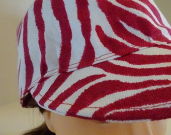 Newsboy: Cranberry Zebra