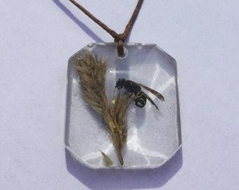 Baby Wasp Necklace