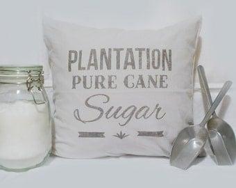 """Pillowcase """"Sugar"""" (light grey, 100% cotton)"""