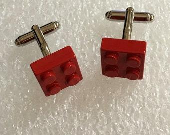 Metal lego Cufflinks