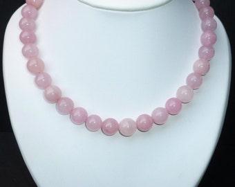 Necklace Rose quartz