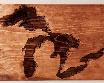 Great Lakes Wood Art Wood Burning