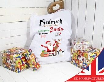 Christmas Sack | Giant Christmas Sack | Personalized | Personalised Christmas Sack |Santa Sacks | Santa Sacks - Personalized Santa Bag