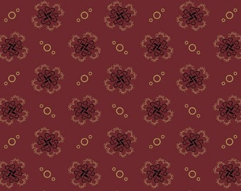Fabric / Quilting Fabric / Jo's Best Friend /Red / A-5602-R / Andover/