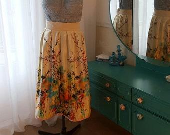 Skirt Fading Flowers