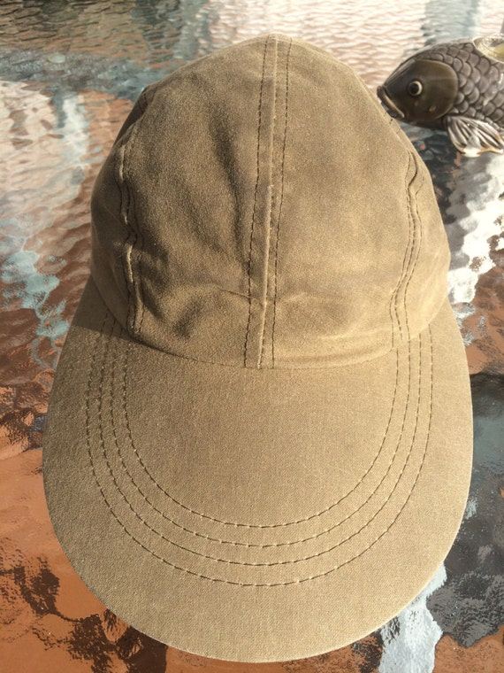 Filson oil cloth duck bill hunting fishing hat for fowl for Long bill fishing hat