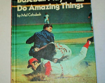 Vintage Step-Up Reader - Baseball Players Do Amazing Things
