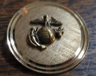 La Mode Karatclad Marine Corp brooch