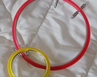 Embroidery Hoops For Needlework. Set of 2
