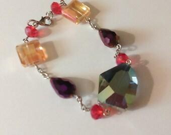 7in Multi color bracelet