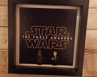 Han Solo, Chewbacca, star wars lego frame, chewie we're home, chewie, chewbacca decal, star wars,chewbacca baby, perfect gift for him or her