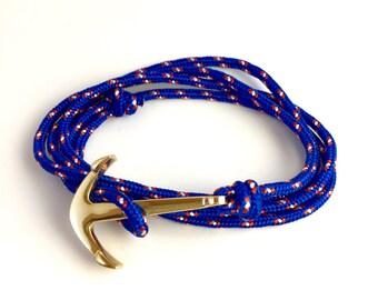 Anchor bracelet / anchor strap cable