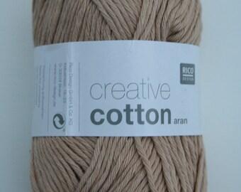Rico Creative Cotton Aran Clay 051