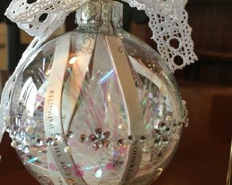 Wedding Invite Ornament