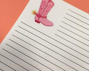 Mandy's Boots Paper