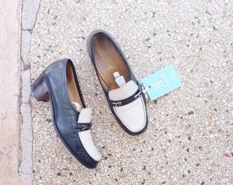Vintage loafers flats pumps, size UK 5,5 EUR 38
