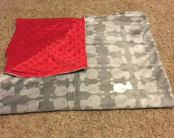 """Baby Blanket - Car Seat Blanket- 30"""" x 40"""" Blanket"""