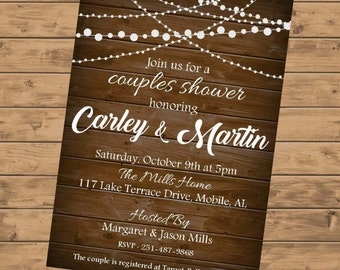 Couples Shower Invitation DIGITAL