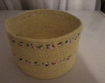 Basket - Yellow