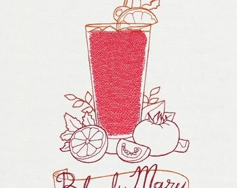 Tea Towel - Bloody Mary
