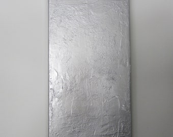 Original Abstract Art, Silver