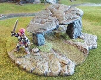 Dolmen Standing Stones Wargames Scenery