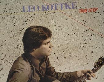 Leo Kottke record album, Time Step vintage vinyl record