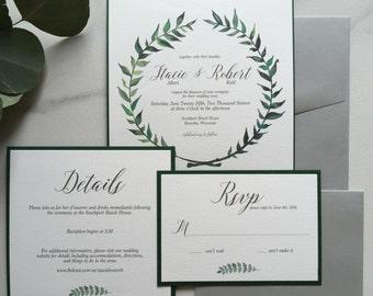 Stacie : Wedding Invitation Suite
