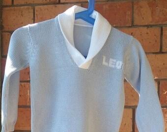 Art 26 Complete bimbo-shawl collar Shirt + Pants with name
