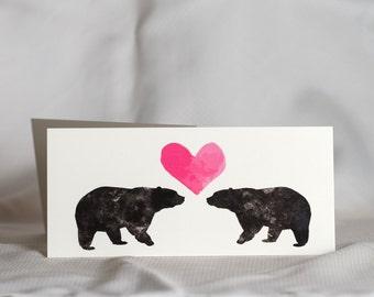 Valentine's Day Card- BEARS
