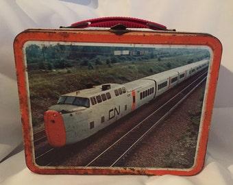 Vintage 1970's CP Rail Lunchbox