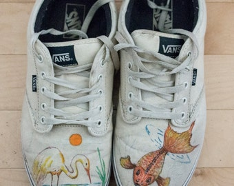 Let me Custom Paint your Shoes (or denim clothing.)