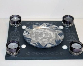 candle holder pouch