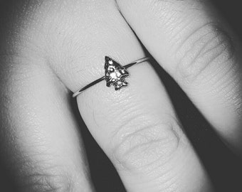 Stackable Arrowhead Ring